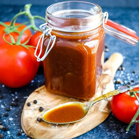 If you're wondering how to make BBQ sauce from scratch, you've come to the right place! My super-simple Homemade Honey BBQ Sauce Recipe tastes absolutely incredible and the perfect way to make your own homemade BBQ sauce from scratch. Fantastic on chicken and pork chops!