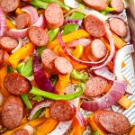 Baked Sausage and Peppers