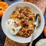 Pumpkin Slow Cooker Steel Cut Oats