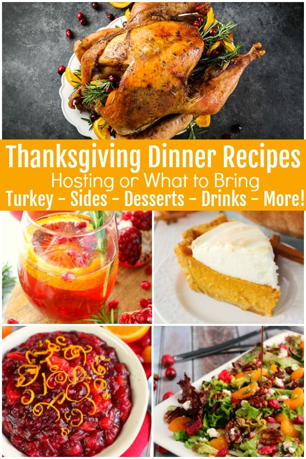 Are you looking for some good Thanksgiving dinner recipes or some easy Thanksgiving menu ideas? Are you attending Friendsgiving or Thanksgiving but don't know what to bring? You've come to the right place! I've compiled ALL of my best Thanksgiving recipes here for easy reference.
