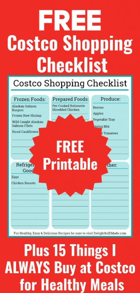 Is putting together healthy meals and snacks a challenge? I've got ya covered! I've put together my favorite things to buy from Costco that are perfect for making quick and healthy meals and snacks.