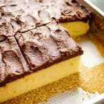Buttermilk Sheet Cake with Chocolate Frosting