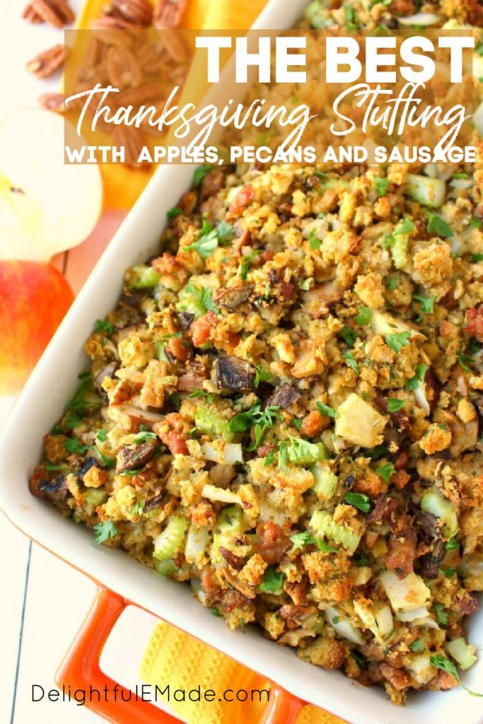 Best thanksgiving stuffing recipe with sausage.