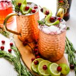 Cranberry Moscow Mules