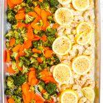 Lemon Pepper Shrimp with Vegetables