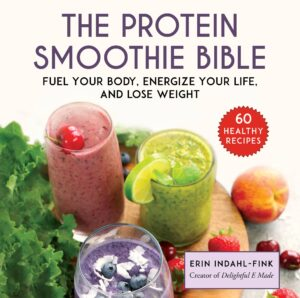 The protein smoothie bible book cover.