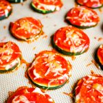 Baked Zucchini Pizza Bites