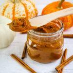Healthy Homemade Pumpkin Butter